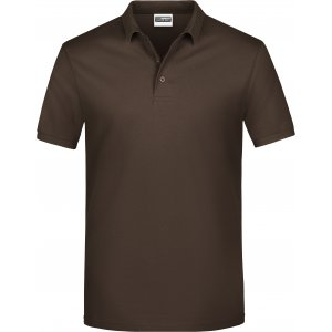 Pánské triko s límečkem classic JAMES NICHOLSON JN792 BROWN
