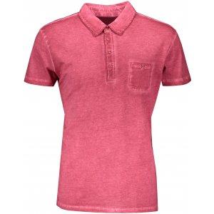 Pánské triko s límečkem fashion JAMES NICHOLSON JN988 RED