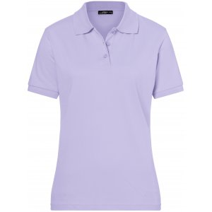Dámské triko s límečkem premium JAMES NICHOLSON JN071 LILAC