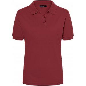 Dámské triko s límečkem premium JAMES NICHOLSON JN071 WINE