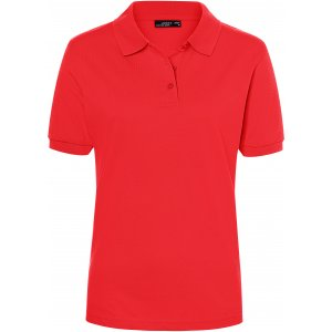 Dámské triko s límečkem premium JAMES NICHOLSON JN071 TOMATO