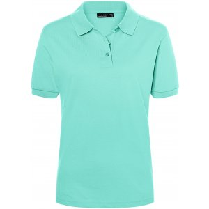 Dámské triko s límečkem premium JAMES NICHOLSON JN071 MINT