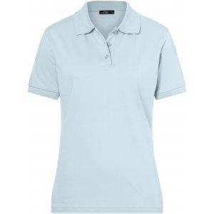 Dámské triko s límečkem premium JAMES NICHOLSON JN071 LIGHT BLUE
