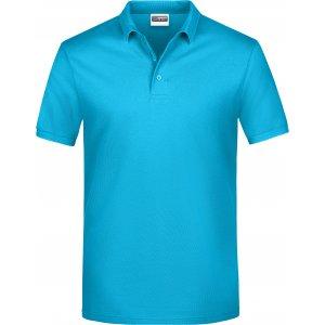 Pánské triko s límečkem classic JAMES NICHOLSON JN792 TURQUOISE