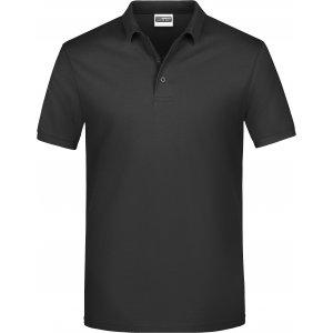 Pánské triko s límečkem classic JAMES NICHOLSON JN792 BLACK