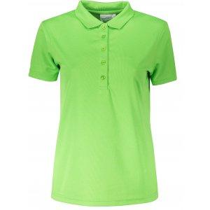 Dámské triko s límečkem funkční classic JAMES NICHOLSON JN719 LIME GREEN