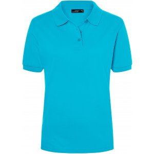 Dámské triko s límečkem premium JAMES NICHOLSON JN071 TURQUOISE