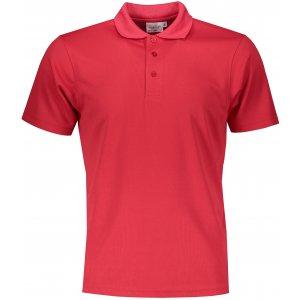 Pánské triko s límečkem funkční classic JAMES NICHOLSON JN720 RED