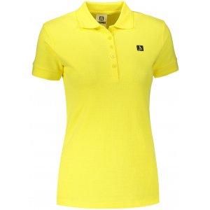 Dámské triko s límečkem ALTISPORT ALW065210 CITRÓNOVÁ