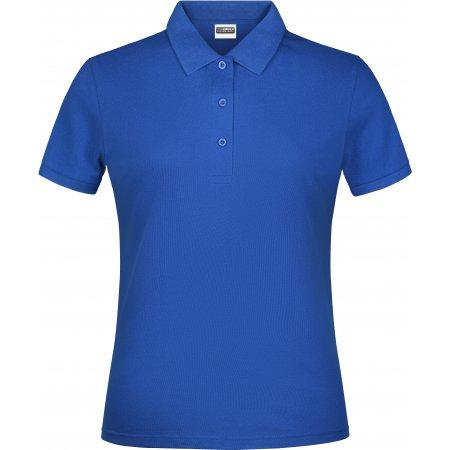 Dámské triko s límečkem classic JAMES NICHOLSON JN791 ROYAL