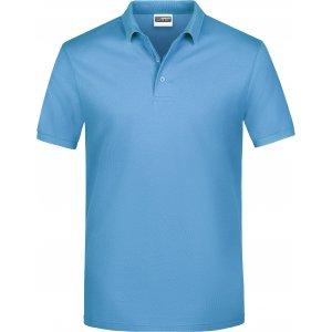 Pánské triko s límečkem classic JAMES NICHOLSON JN792 SKY BLUE