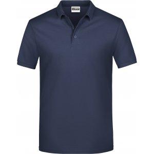 Pánské triko s límečkem classic JAMES NICHOLSON JN792 NAVY