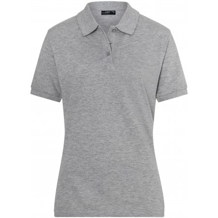 Dámské triko s límečkem premium JAMES NICHOLSON JN071 GREY HEATHER