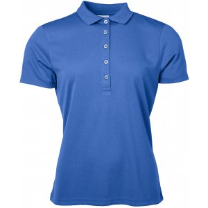 Dámské triko s límečkem funkční classic JAMES NICHOLSON JN719 ROYAL