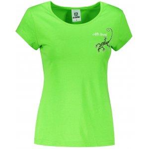 Dámské triko ALTISPORT ALW092122 APPLE GREEN