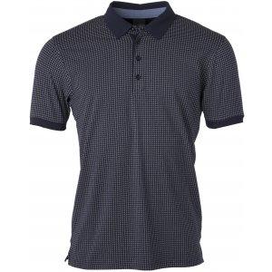 Pánské triko s límečkem JAMES NICHOLSON JN718 NAVY/WHITE