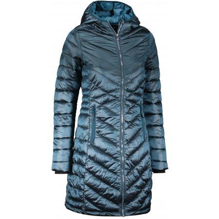 Dámský zimní kabát ALTISPORT MIGGA LJCU493 TYRKYSOVÁ
