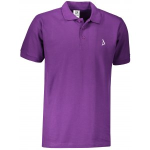Pánské premium triko s límečkem ALTISPORT ALM002203 FIALOVÁ