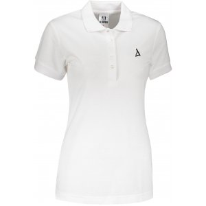 Dámské premium triko s límečkem ALTISPORT ALW002210 BÍLÁ
