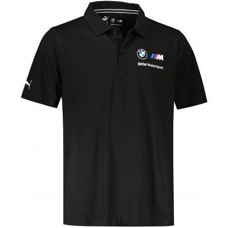 Pánské triko s límečkem PUMA BMW MMS ESS POLO 532252-01 ČERNÁ