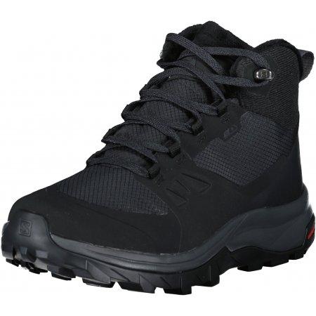 Pánské zimní boty SALOMON OUTSNAP CSWP L41110000 ČERNÁ/ŠEDÁ/ČERNÁ