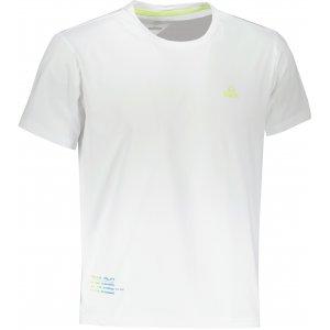 Pánské triko PEAK ROUND NECK T SHIRT FW612283 WHITE