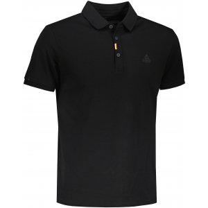 Pánské triko s límečkem PEAK POLO T SHIRT FW612073 BLACK