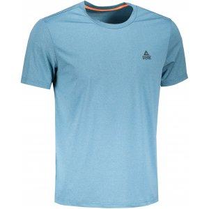 Pánské triko PEAK ROUND NECK T SHIRT FW612053 COBALT BLUE