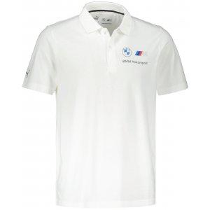 Pánské triko s límečkem PUMA BMW MMS ESS POLO 532252-02 BÍLÁ