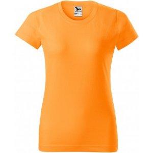 Dámské triko MALFINI BASIC 134 TANGERINE ORANGE