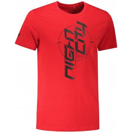 Pánské triko 4F H4Z21-TSM020 RED