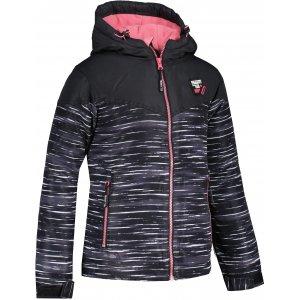 Dívčí zimní bunda SAM 73  THIA GB 541 ČERNÁ