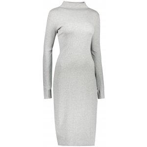 Dámské šaty 4F H4Z21-SUDD013 COLD LIGHT GREY MELANGE