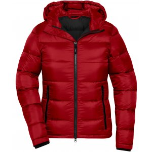 Dámská premium bunda JAMES NICHOLSON JN1167 RED/BLACK