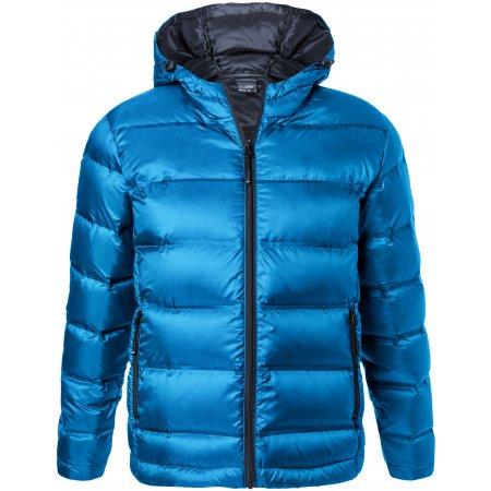 Pánská péřová bunda JAMES NICHOLSON JN1152 BLUE/NAVY