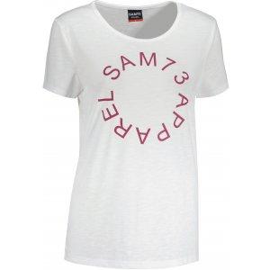 Dámské triko s krátkým rukávem SAM 73  ARIAS WT 825 BÍLÁ