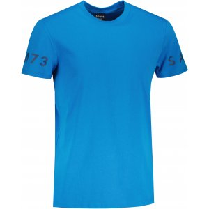 Pánské triko s krátkým rukávem SAM 73  MATTHEW MT 779 JASNÁ MODRÁ