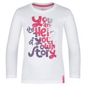 Dívčí triko LOAP BIBE BÍLÁ