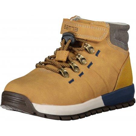Dětské zimní boty SAM 73  RILEY KF 02 HNĚDÁ