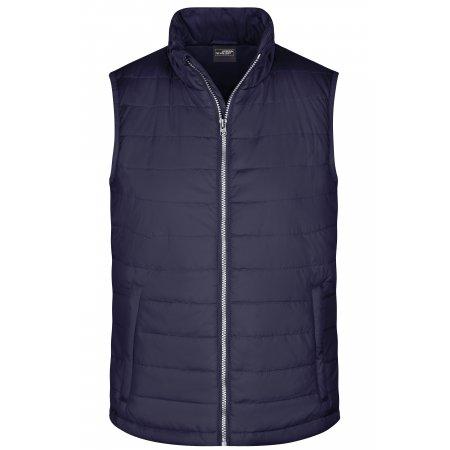 Pánská  vesta JAMES NICHOLSON JN1136 NAVY