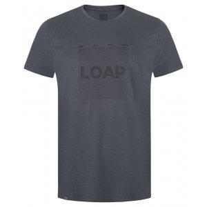 Pánské triko LOAP BERTO ŠEDÁ
