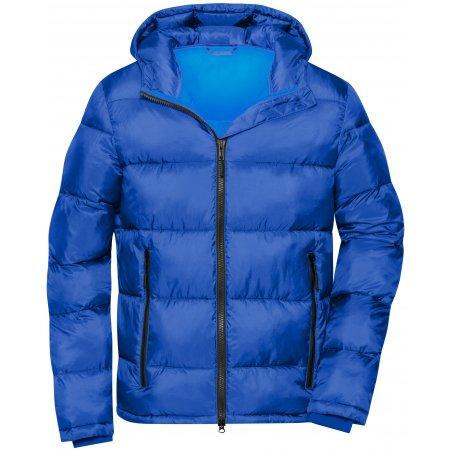 Pánská premium bunda JAMES NICHOLSON JN1168 ELECTRIC BLUE/NAUTIC