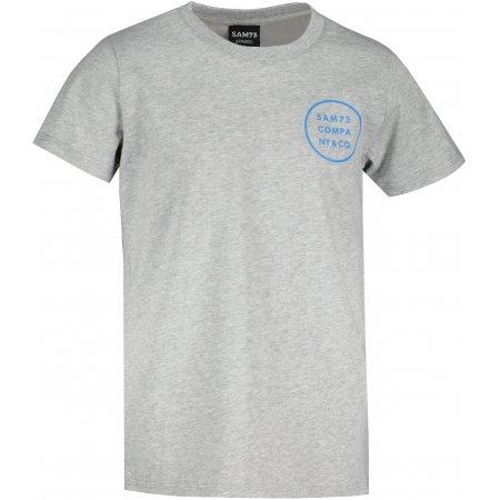 Chlapecké triko s krátkým rukávem SAM 73  BLAIR BT 551 SVĚTLE ŠEDÁ