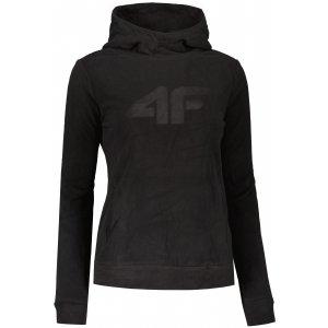 Dámská fleece mikina 4F NOSH4-PLD352 DEEP BLACK