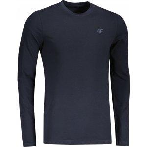 Pánské triko s dlouhým rukávem 4F NOSH4-TSML350 DARK BLUE