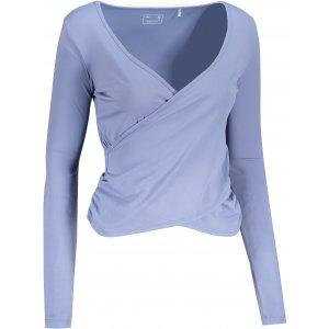 Dámské triko s dlouhým rukávem 4F H4Z21-TSDL014 FIALOVÁ/MODRÁ