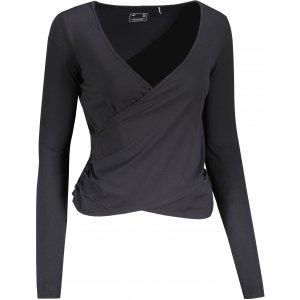 Dámské triko s dlouhým rukávem 4F H4Z21-TSDL014 DEEP BLACK