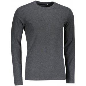 Pánské triko s dlouhým rukávem 4F NOSH4-TSML350 DARK GREY MELANGE