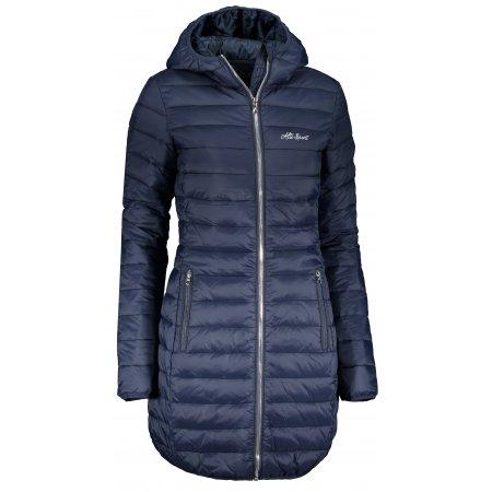 Dívčí kabát ALTISPORT AGURNA LCTS134 TMAVĚ MODRÁ