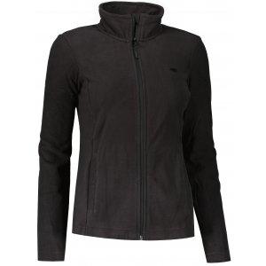 Dámská fleece mikina 4F NOSH4-PLD350 DEEP BLACK